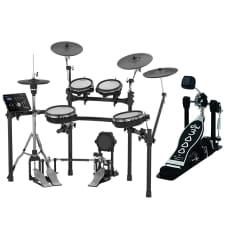 Roland TD-25KV-S V-Drums Electronic Drum Set W/ Free DW 3000 Single Bass Drum Pedal