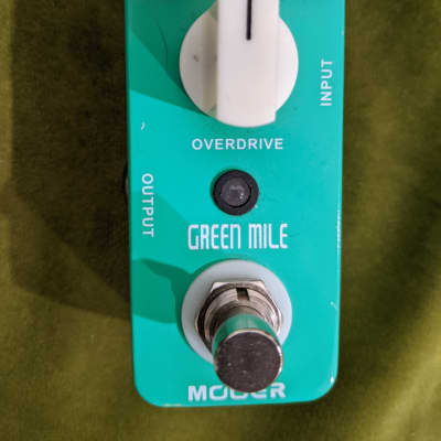 Mooer Green Mile Mini Overdrive Pedal
