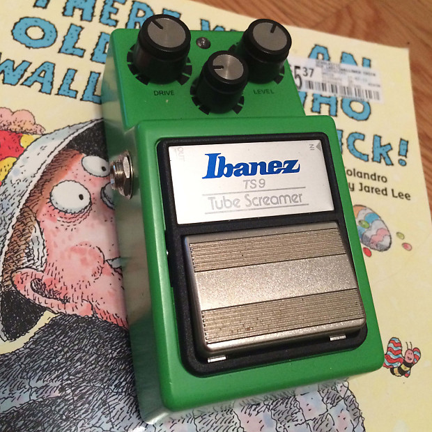 Ibanez TS9 Tube Screamer with Keeley Baked Mod