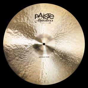 "Paiste Masters Medium Ride Cymbal 21"""