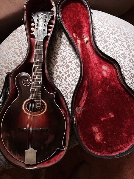 Gibson F4 1921 Red sunburst
