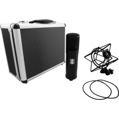 New Slate Digital ML-1 VMS Large-Diaphragm Modeling Cardioid Condenser Microphone (Matte Black)