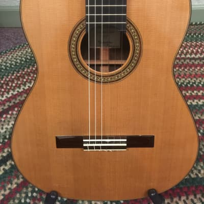 Kolya Panhuyzen Classical Guitar 2012 Cedar/Ziricote for sale