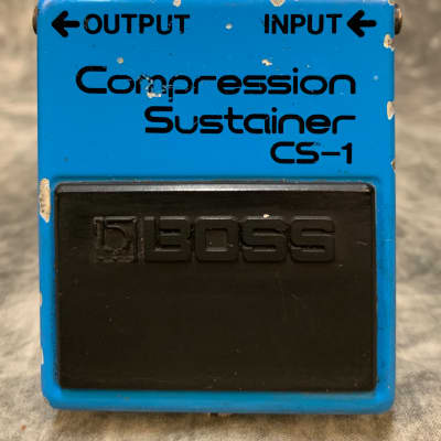 Boss CS-1 Compression Sustainer Silver Screw Japan