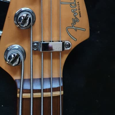 Fender  American Standard Jazz Bass V 5-String 2004 black (Rare) for sale