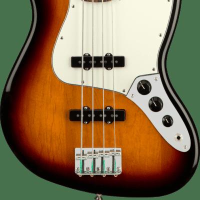 Fender Player Jazz Bass Fretless with Pau Ferro Fretboard 3-Color Sunburst