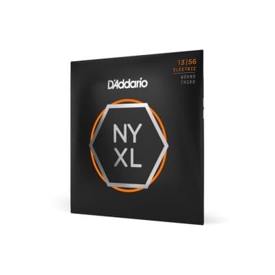 D'Addario NYXL1356W Nickel Wound Electric Strings, Medium Wound 3rd