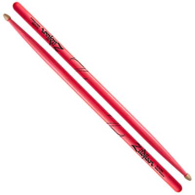 Zildjian 5A Acorn Wood Tip, Neon Pink