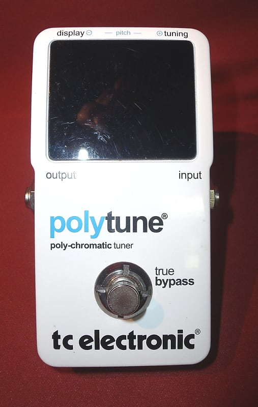 tc electronic polytune poly chromatic tuner pedal reverb. Black Bedroom Furniture Sets. Home Design Ideas