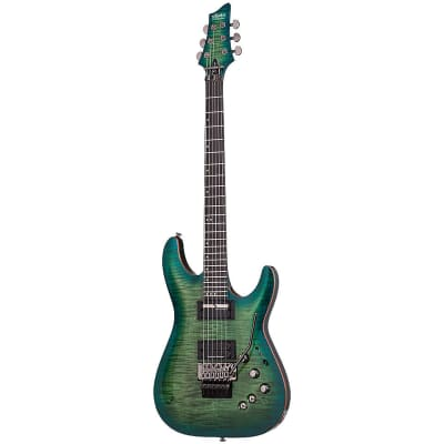 Schecter Blackjack SLS C-1 FR S AQB Aqua Burst Aquaburst B-STOCK Electric Guitar Sustainiac FR-S for sale