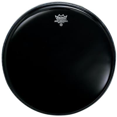 Remo ES000800 Ebony Ambassador Drum Head, 8-Inch