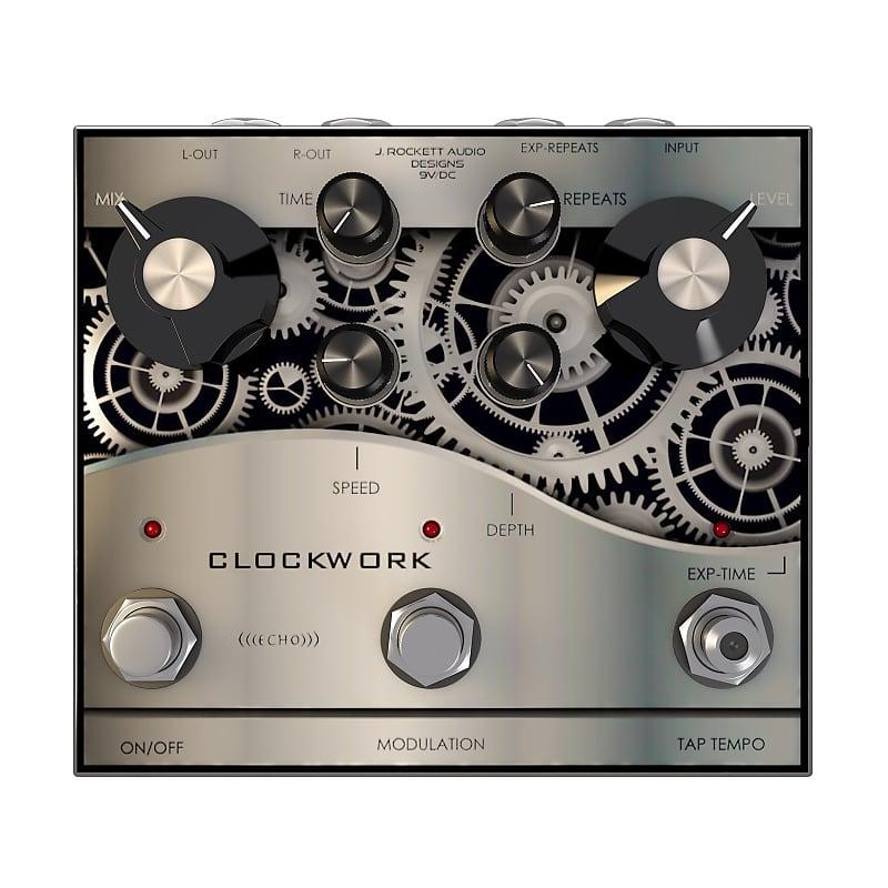 J. Rockett Clockwork Echo Analog Delay Effects Pedal
