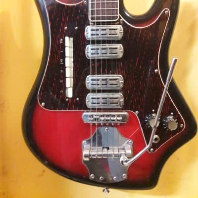 Crucianelli Ellisound 1960/62 sunburst red/black for sale