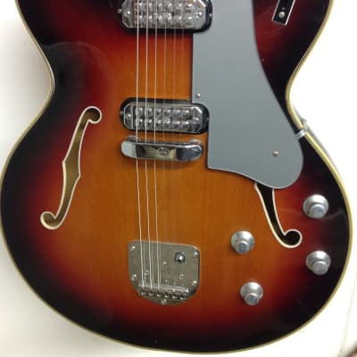 Welson Archtop F-hole 1960's Sunburst for sale