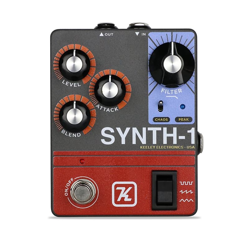 Guitar Synth Pedal >> Keeley Synth 1 Guitar Synth Pedal Neworld Music Reverb