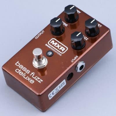 MXR M84 Bass Fuzz Deluxe Bass Guitar Effects Pedal P-14528