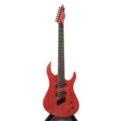 Carparelli Infiniti S7 (Fanned Fret) RED for sale