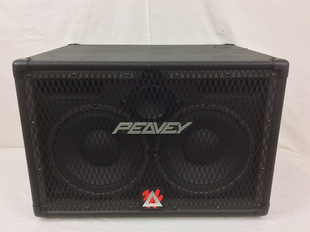 Peavey 210 TVX 2x10 Bass Speaker Cabinet with Tweeter | Reverb