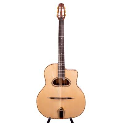 Anton Sandner  Maccaferri Gipsy Jazz-Gitarre  mit