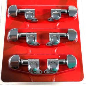 Grover 205C Mini Rotomatic 3+3 Tuning Machines