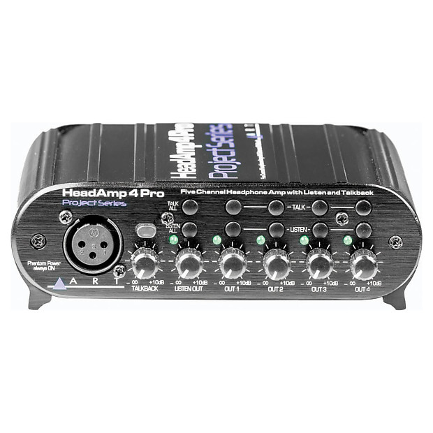 art headamp 4 pro four channel headphone amp geartree reverb. Black Bedroom Furniture Sets. Home Design Ideas