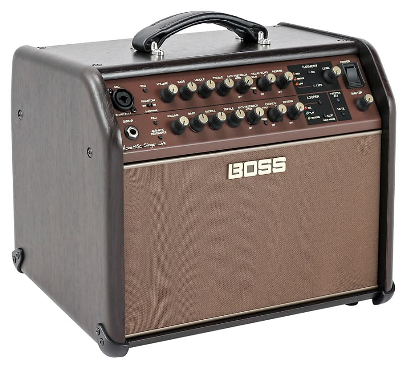 boss acoustic singer live 60 watt acoustic guitar amplifier reverb. Black Bedroom Furniture Sets. Home Design Ideas