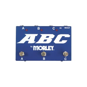 Morley ABC Selector/Combiner Footswitch