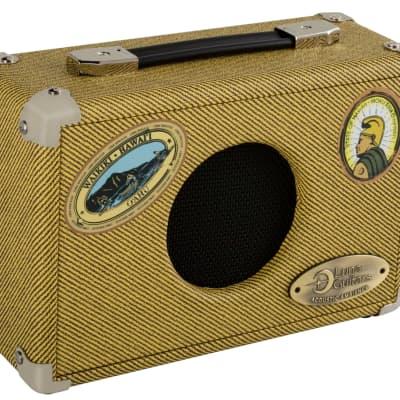 Luna UK5 Uke Portable Suitcase 5 Watt Ukulele Amplifier - NEW for sale