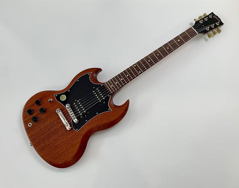 Gibson SG Faded LH Lefty 2018 Worn Bourbon | bassNguitar
