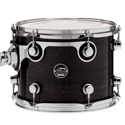 DW Perf tom drum 9x12 Ebony Stain, STM DRPL0912STES
