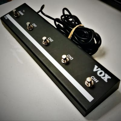 Vox VFS5 VT Series Rugged Foot Controller For VT Series Modeling Amplifiers