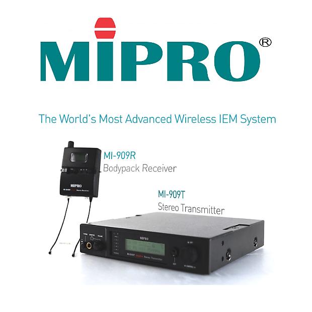 MIPRO MI-909 (Freq: 5E 480~544 MHz)