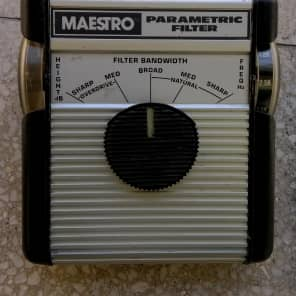 Maestro MPF-1 Parametric Filter & Overdrive  - serial number MPF1170 for sale