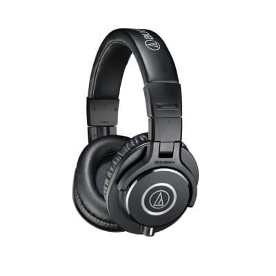 Audio Technica ATH-M40X Closed Back Studio Monitoring Headphones