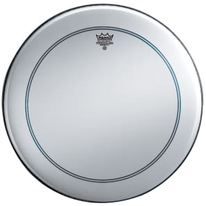 """Remo Powerstroke P3 Smooth White Bass Drum Head 26"""""""