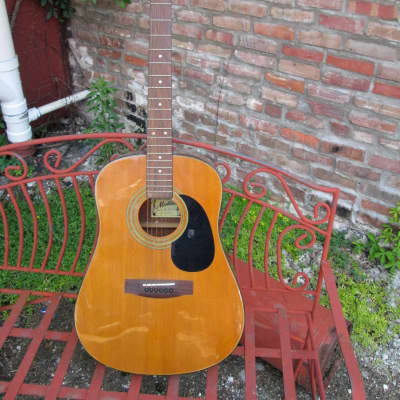 MONTANA by Kaman MT-404N Acoustic Guitar. This guitar has some wear for sale