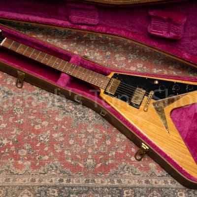 1983 Gibson  Flying V Korina Heritage Natural Tim Shaw Pickups