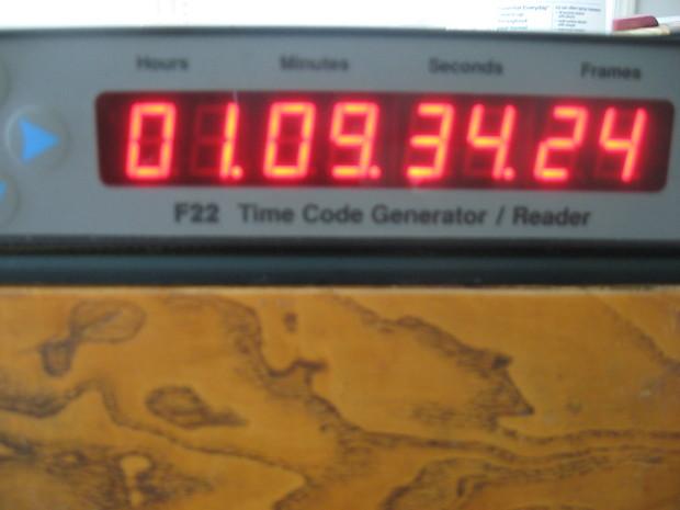 Fast Forward F22 Time Code Generator/ Reader Black/Gray/Blue