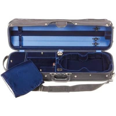 Bobelock 1017 Hill Style Violin Case Blue