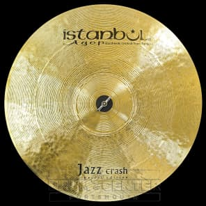 "Istanbul Agop 19"" Special Edition Jazz Crash Cymbal"