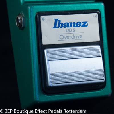 Ibanez OD-9 Overdrive 1982 s/n 290489 Japan