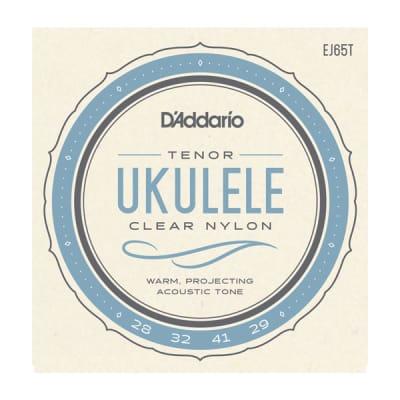 D'Addario EJ65T Pro-Arté Custom Extruded Nylon Ukulele Strings Tenor Standard