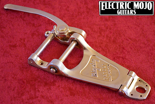 aged bigsby b7 vibrato gold relic b7g tremolo gibson les reverb. Black Bedroom Furniture Sets. Home Design Ideas
