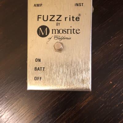 Mosrite Fuzzrite 1968 Original and rare! for sale