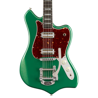Fender Parallel Universe II Maverick Dorado Cadillac Green Pre-Order for sale