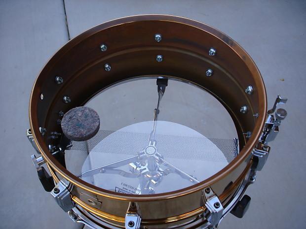 ludwig 6 5 x 14 supraphonic bronze snare drum clean reverb. Black Bedroom Furniture Sets. Home Design Ideas