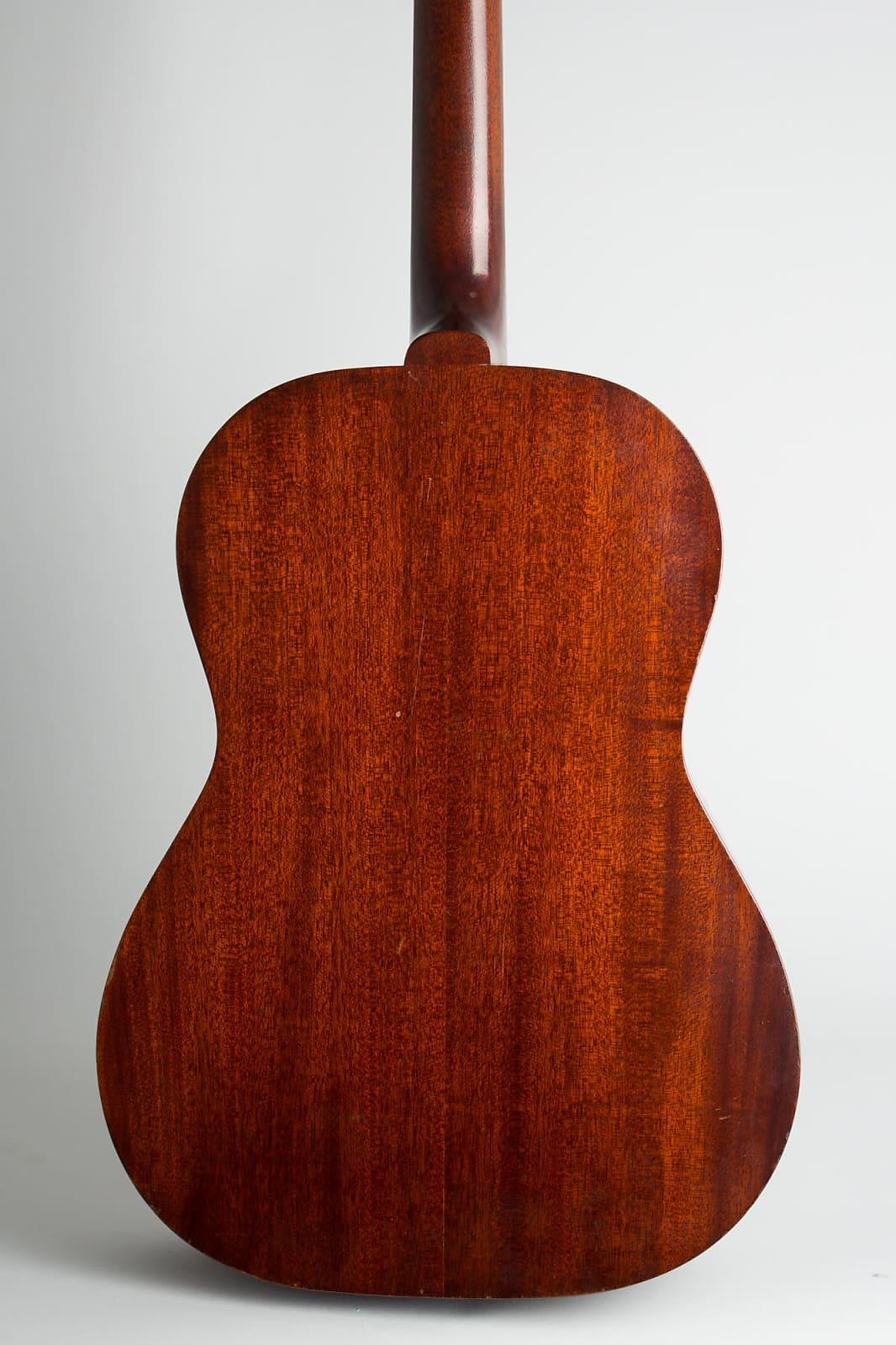 Gibson  LG-0 Flat Top Acoustic Guitar (1961), ser. #35502, original brown chipboard case.