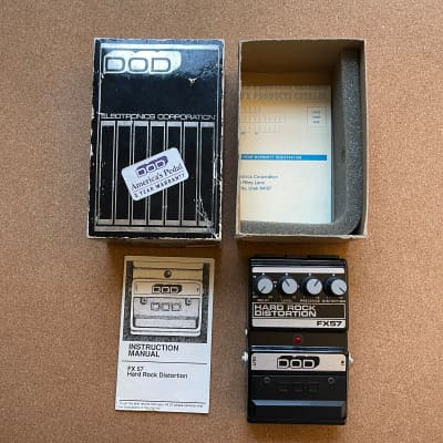 DOD Hard Rock Distortion and Delay FX57 (Made in USA)