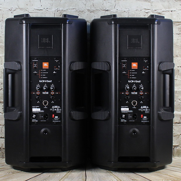 2 jbl eon 612 powered speakers reverb. Black Bedroom Furniture Sets. Home Design Ideas