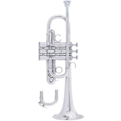 Bach AE190S Harmony & Specialty Trumpet - Professional, Silver-Plate Finish